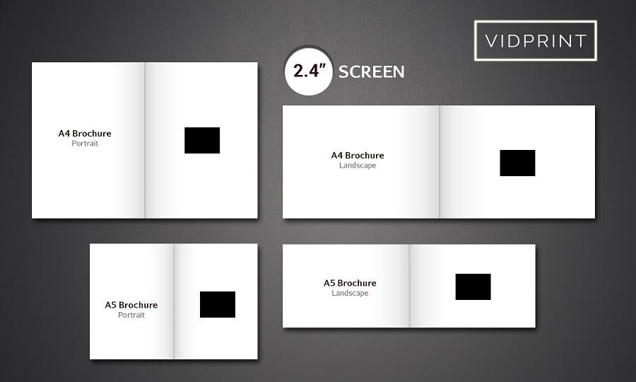 sizes of brochures